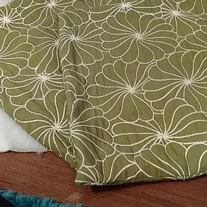 Other - Pair of olive throw pillow covers